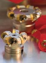 Двойная позитивная фрезерная пластина Ceratizit позволяет работать на высоких скоростях резания даже на маломощном оборудовании