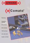 Каталог токарного инструмента Comadex с СМП для обработки канавок и отрезки (Нидерланды)