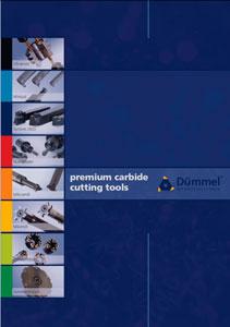 Каталог инструмента для обработки канавок Dummel (Германия)