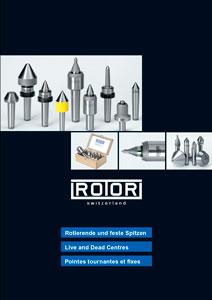 Каталог задних центров Rotor Tool (Швейцария)
