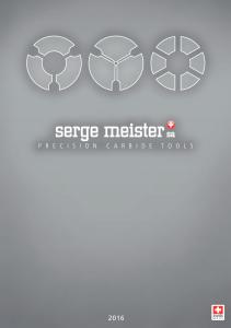 Каталоги Serge Meister SA (Швейцария)