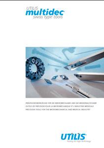 Каталог инструмента для токарных автоматов Utilis (Швейцария)